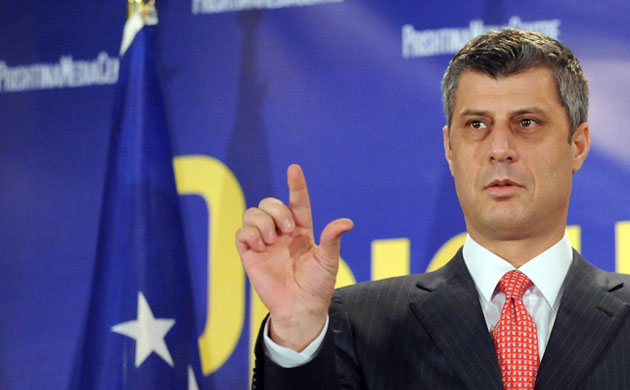 Premierul albanez kosovar Hashim Thaci, acuzat de trafic de organe umane