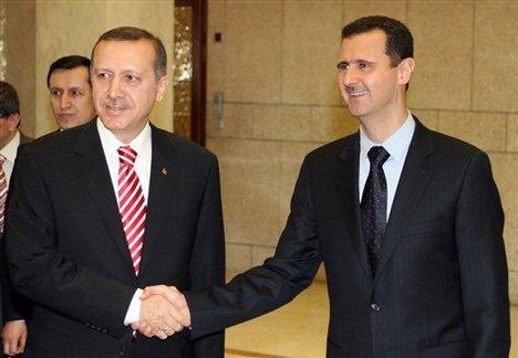 Erdogan Bashar al Assad y54