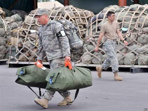 Baza aeriana de la Manas, locatie strategica pentru fortele SUA implicate in razboiul afgan
