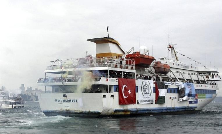 """Criza """"Mavi Marmara"""" a aruncat in aer relatiile turco-israeliene"""
