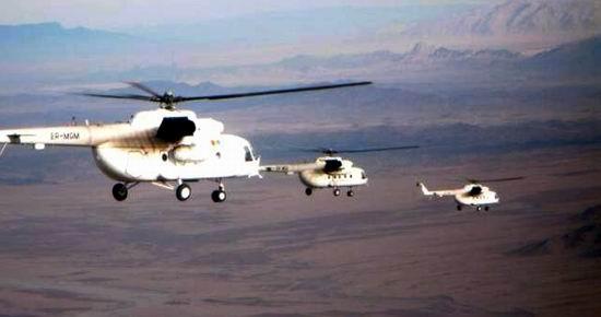 Elicoptere moldovenesti in Afganistan