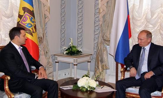 Filat si Putin la Sankt Petersburg