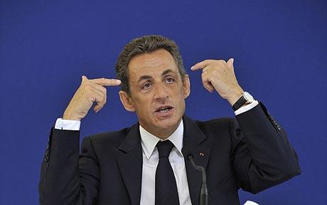 Presedintele francez Nicolas Sarkozy, dusman declarat al Turciei