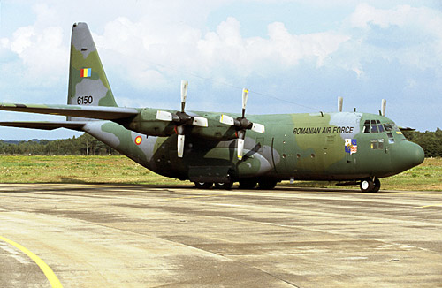 Avioanele Hercules ale Fortelor Aeriene Romane, implicate in misiuni umanitare internationale