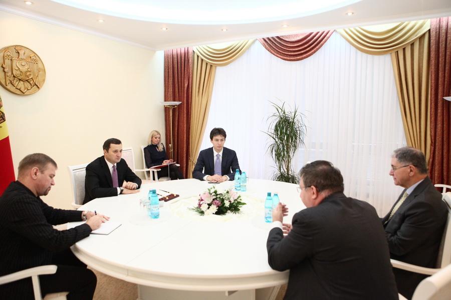 Premierul Republicii Moldova Vlad Filat spera sa obtina sprijinul statelor UE