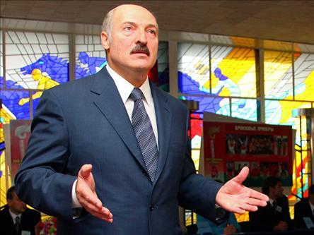 Presedintele belarus Lukasenko, ingenuncheat de Gazprom