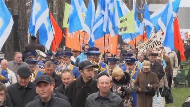Lichidatorii de la Cerobal, miza politica in Ucraina