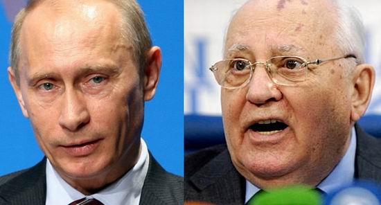 Gorbaciov Putin