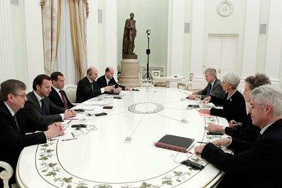 Lagarde Medvedev 7422