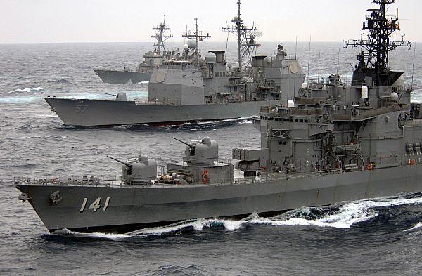 Navele militare ale SUA raman in Golful Persic
