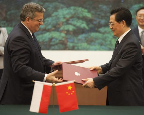 CHINA POLAND PRESIDENT