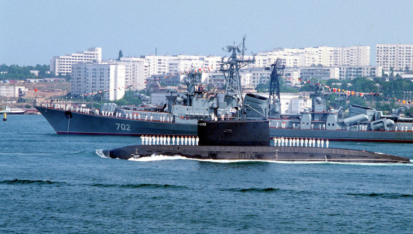 Flota militara rusa a Marii Negre, arma geopolitica a Kremlinului