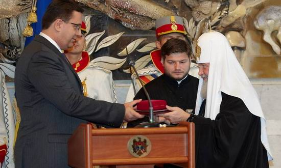 Marian Lupu Patriarhul Kirill