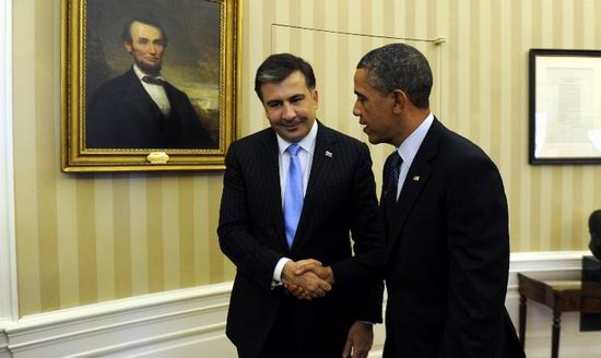 Saakasvili Obama
