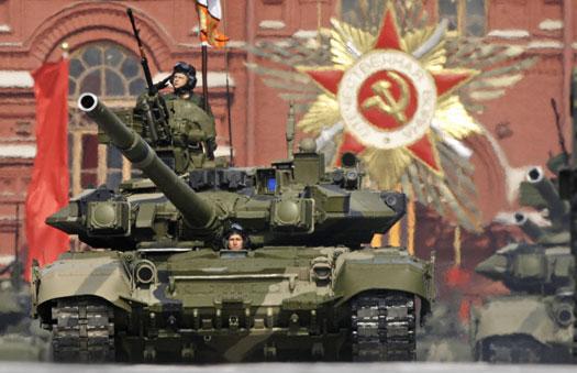 Armata rusa, pregatita sa se instaleze permanent in Serbia