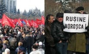 Proteste chisinau pcrm 543