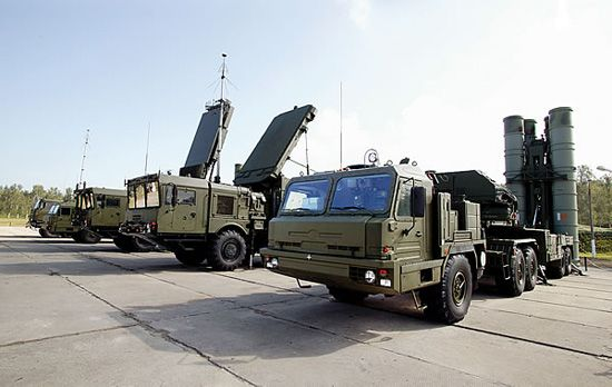 S 400 missile