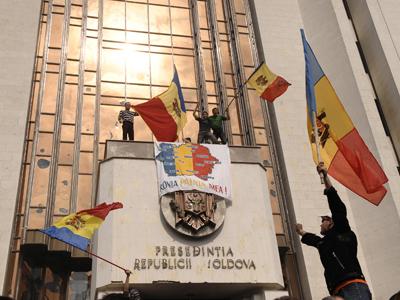 MOLDOVA-VOTE-PROTEST