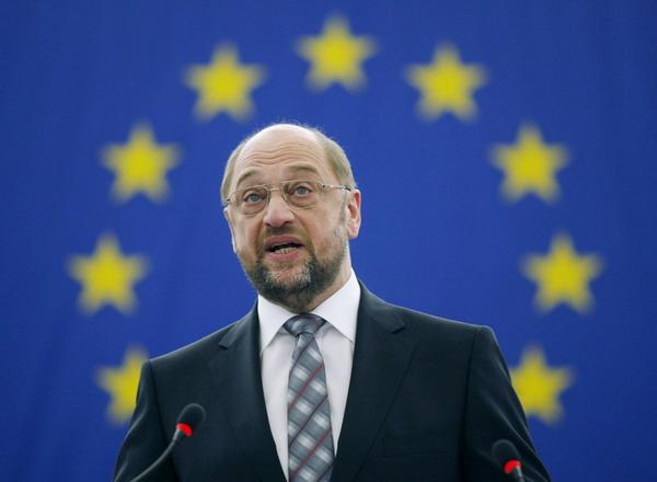 Presedintele PE, Martin Schultz