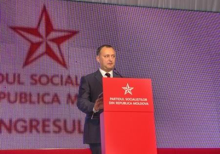 Liderul socialist, Igor Dodon