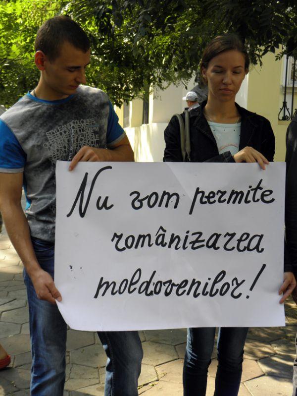 Actiunile de protest anti-romanesti, frecvente la Odessa