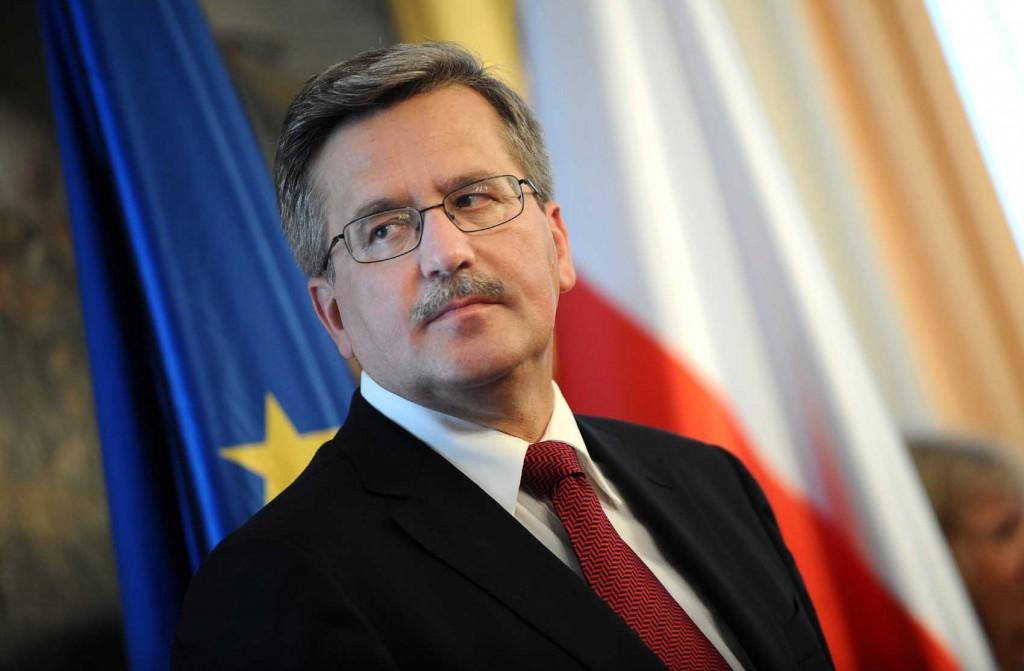Liderul polonez, Bronislaw Komorowski, apostrofeaza Ucraina