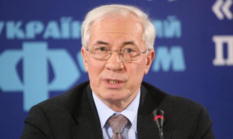Mykola Azarov, multumit de Uniunea Vamala