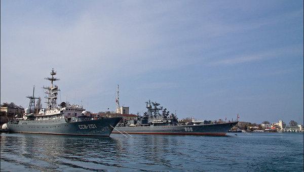 Flota militara rusa, atuu strategic al Kremlin-ului la Marea Neagra