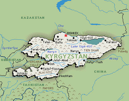 Kirghizstan, o alta mosie Gazprom
