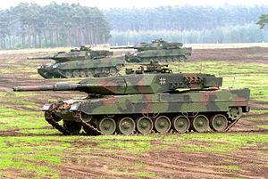 Leopard 2, principalul tanc al armatei germane