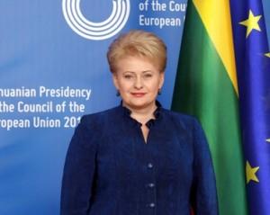 Presedintele Lituaniei, Dalia-Grybauskaite