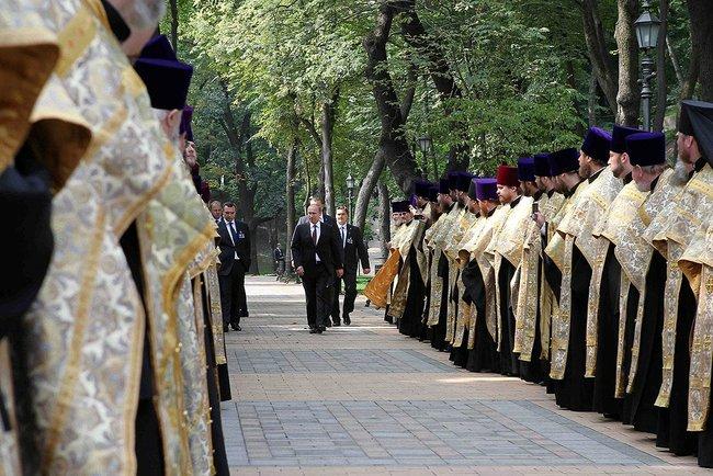 Vladimir Putin, la Kiev cu ocazia a 1.025 de ani de la crestininarea Rusiei Kievene