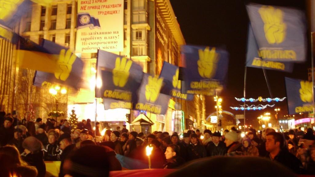 Popularitatea formatiunii nationaliste ucrainene Svoboda sperie Knesset-ul