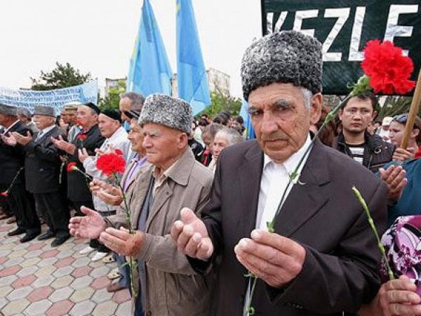 Ucraina refuza sprijinul international pentru rezolvarea problemei deportatilor tatari crimeeni