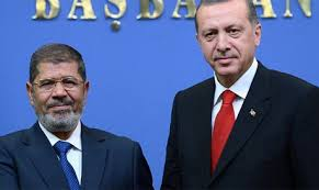 Recep Tayyip Erdogan, un aliat strategic al fostului presedinte egiptean, Mohamed Morsi