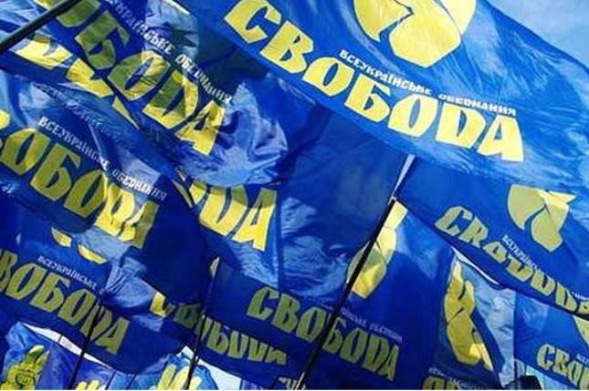 Formatiunea politica Svoboda vizeaza anexarea Transnistriei la Ucraina