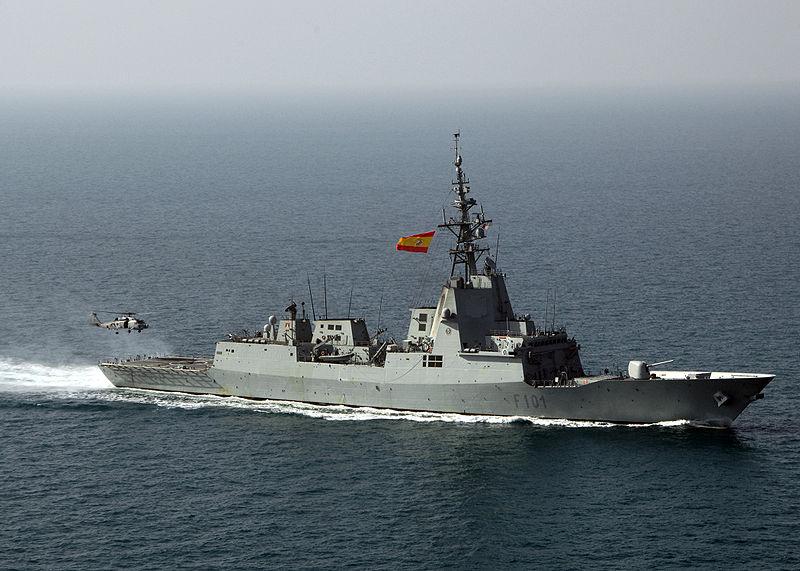 Fregata spaniola, Blas de Lezo, in vizita la Odessa