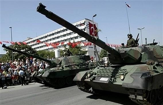 Armata turca, pregatita pentru invadarea Siriei