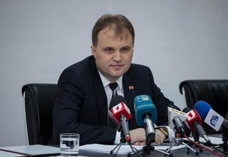 Liderul transnistrean, Evghenii Sevciuk, a cazut in dizgratia Kremlin-ului