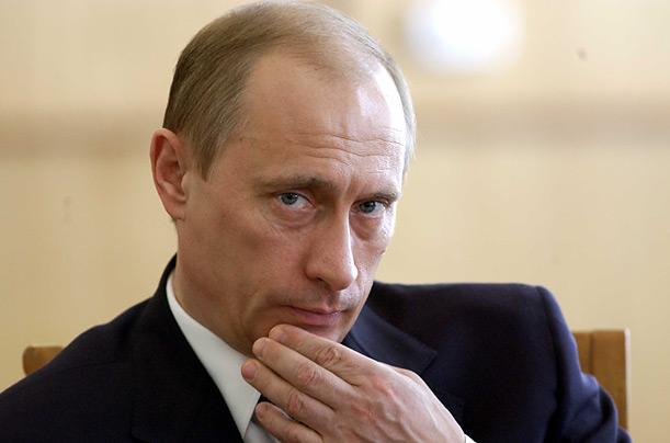 Liderul rus, Vladimir Putin, debarca la Kiev