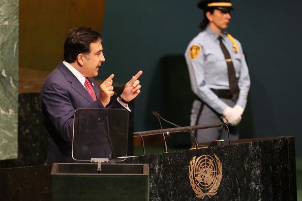 Liderul de la Tbilisi, Mihail Saakasvili