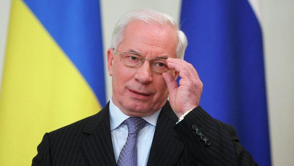 Premierul ucrainean, Mykola Azarov, pregatit sa negocieze cu Federatia Rusa