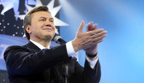 Ukrainian opposition Regions Party leader Yanukovich was named as candidate for Presidential elections at January 2009.
