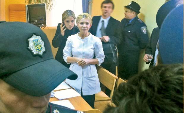 Iulia Timosenko, miza geopolitica
