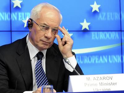 Premierul ucrainean, Mikola Azarov