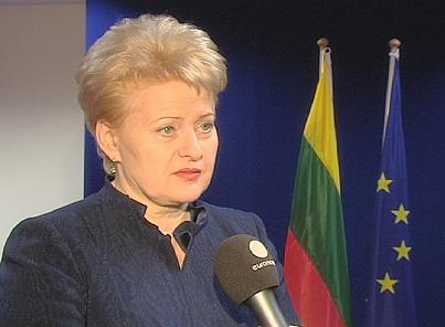 Dalia Grybauskaite a 2g
