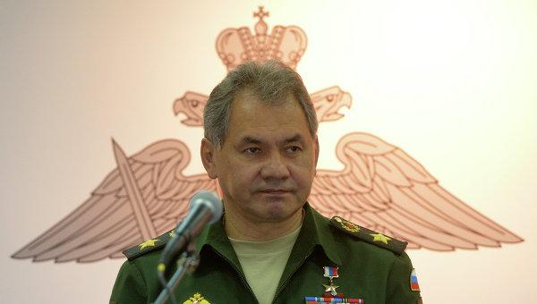 Ministrul rus al Apararii, Serghei Soigu