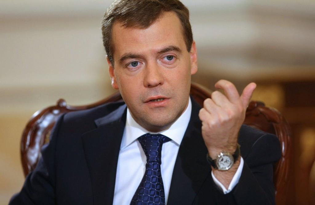 Premierul rus, Dmitri Medvedev, avertizeaza dur Ucraina