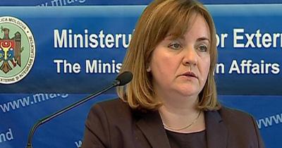 Ministrul de Externe al RM, Natalia Gherman