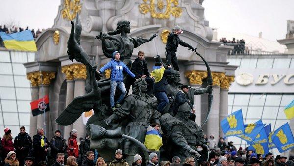 Proteste la Kiev